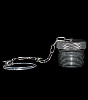 (PVT4-ADP-12) Aluminum Dust Plug