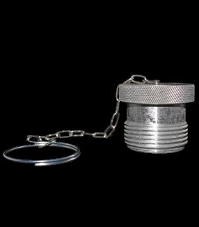 (PVV3-ADP-12) Aluminum Dust Plug