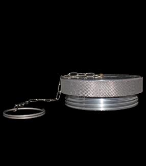 (VIV1-ADP-48) Aluminum Dust Plug